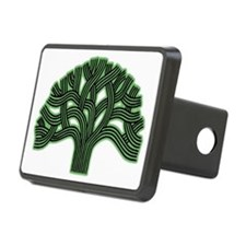 Oakland Tree Hazed Green Hitch Cover