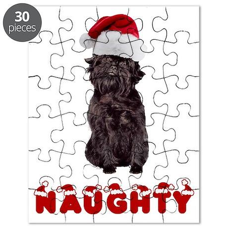 Naughty Affenpinscher Puzzle