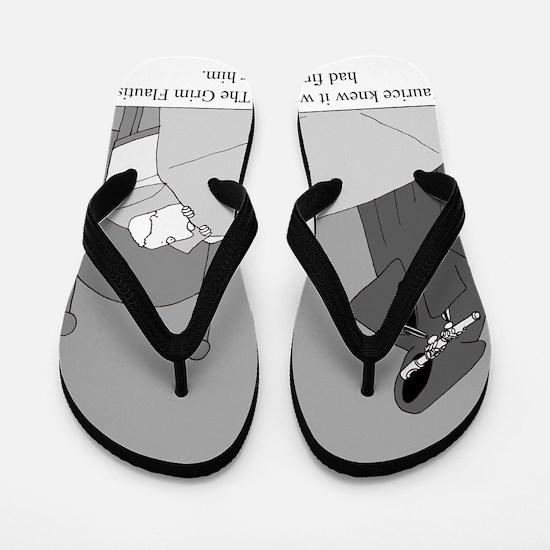 The Grim Flautist Flip Flops