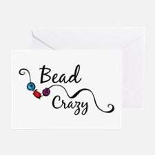 Bead Crazy II Greeting Cards (Pk of 10)