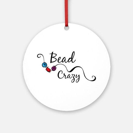 Bead Crazy II Ornament (Round)