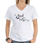 Bead Crazy II Women's V-Neck T-Shirt