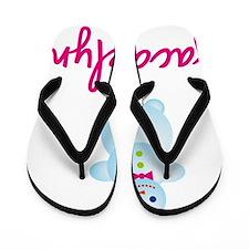 Jacquelyn-the-snow-woman Flip Flops