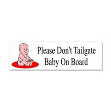 Baby On Board Car Magnet 10 X 3
