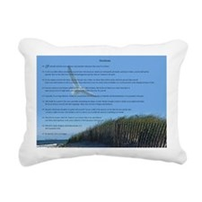 Desiderata Rectangular Canvas Pillow