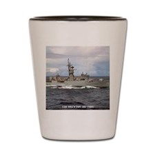 brewton ff framed panel print Shot Glass