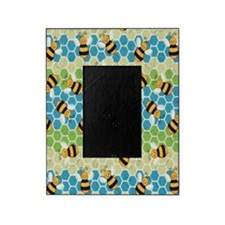 Honey Bee Blue Picture Frame