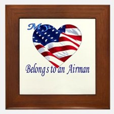 Air Force Wife Girlfriend Fiancee  Framed Tile
