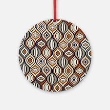 Kaleidoscope on Cotton Round Ornament