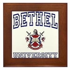 BETHEL University Framed Tile