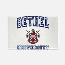 BETHEL University Rectangle Magnet