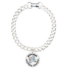 spork-LTT Charm Bracelet, One Charm