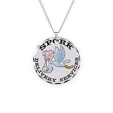 spork-LTT Necklace Circle Charm