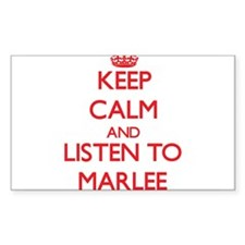 Keep Calm and listen to Marlee Decal