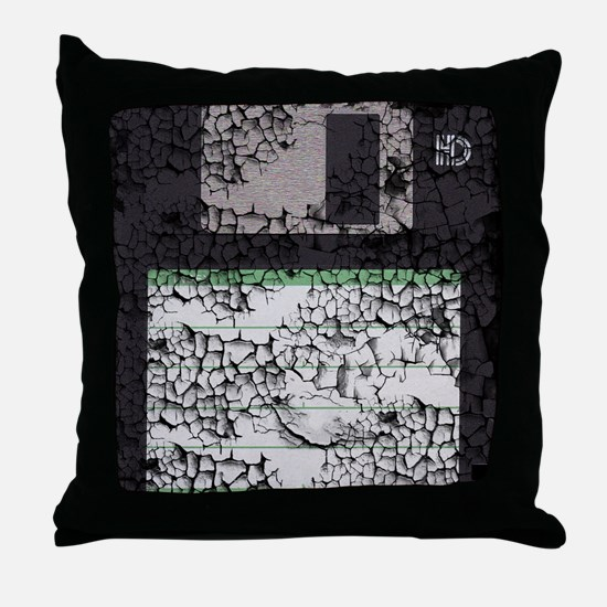 floppyMP Throw Pillow