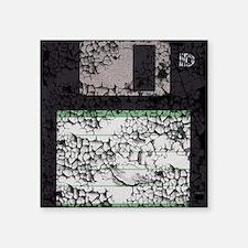 "floppyMP Square Sticker 3"" x 3"""