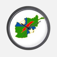 2-75 Afghanistan Wall Clock