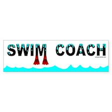 Swim Coach Bumper Stickers
