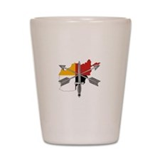 2-3rd Group Afghanistan Shot Glass