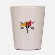 2-3rd Group Afghanistan Shot Glass