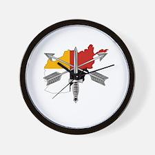 2-3rd Group Afghanistan Wall Clock