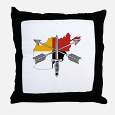 2-3rd Group Afghanistan Throw Pillow