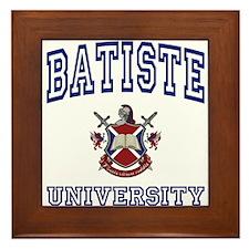 BATISTE University Framed Tile