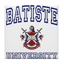 BATISTE University Tile Coaster