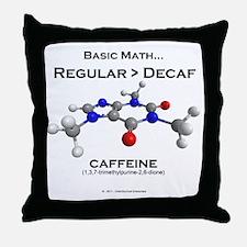 caffeine4 Throw Pillow