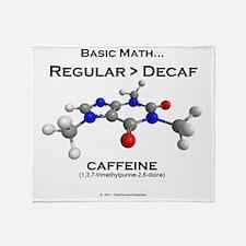 caffeine4 Throw Blanket