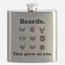 Beards - They grow on you Flask