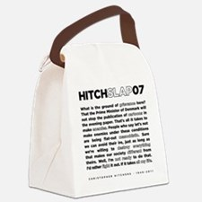 Christopher Hitchens Hitchslap 07 Canvas Lunch Bag