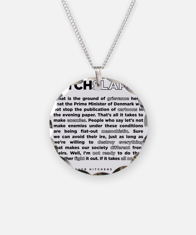 Christopher Hitchens Hitchsl Necklace
