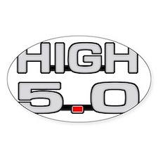 High 5.0 Decal