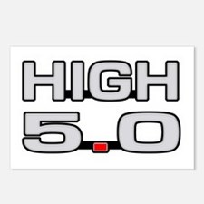 High 5.0 Postcards (Package of 8)