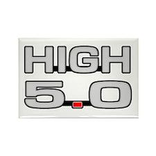 High 5.0 Rectangle Magnet