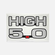 High 5.0 Rectangle Magnet