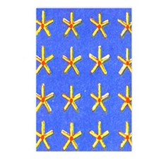 Symmetrical-Stars-iPad 2 Postcards (Package of 8)