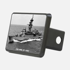 cook ff large framed print Hitch Cover