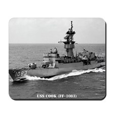 cook ff framed panel print Mousepad
