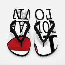 I Wine Cougar Town3 Flip Flops