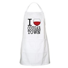 I Wine Cougar Town3 Apron