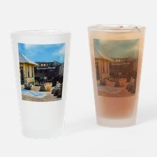 southern pacific depot Drinking Glass