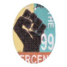 Poster large 23x35_print_Occupy Wall Oval Ornament