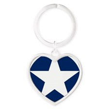 USAAC_roundel_1942-1943 Heart Keychain