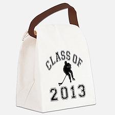 Class Of 2013 Hockey - Black 2 D Canvas Lunch Bag