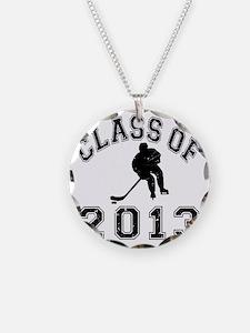 Class Of 2013 Hockey - Black Necklace