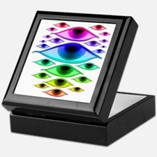 rainboweyespsd Keepsake Box