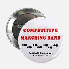 """Competitive Band Footprints 2.25"""" Button (10 pack)"""