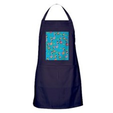 sharp-flamingos- Apron (dark)